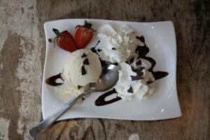 Selbstgemachtes Dessert